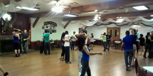 Tuesday salsa with Mambo Exquisite at Elks Lodge in Scottsdale.