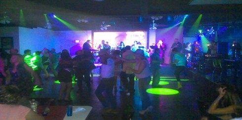 Saturday night Latin dancing at Club Encanto in Phoenix.