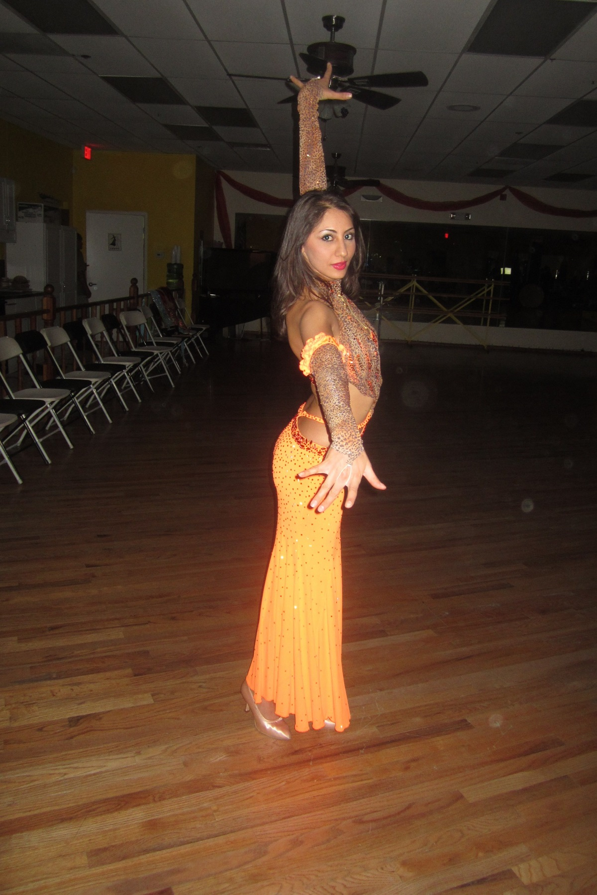 yana latin dance instructor
