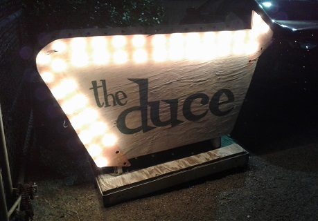 salsa at The Duce